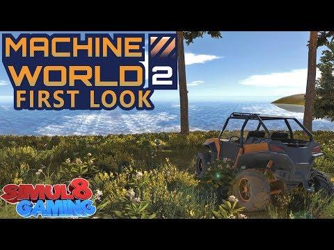 NEW SANDBOX GAME! - Machine World 2 - First Look!
