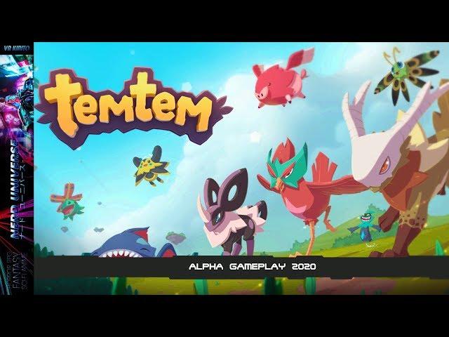 TemTem - Alpha Gameplay - Pokemon artiges MMO - Ersteindruck ✮ Stresstest 2020 [Deutsch] Livestream