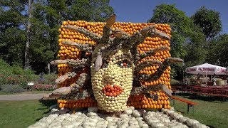 Pumpkin Festival Takes Over Gardens In Germany