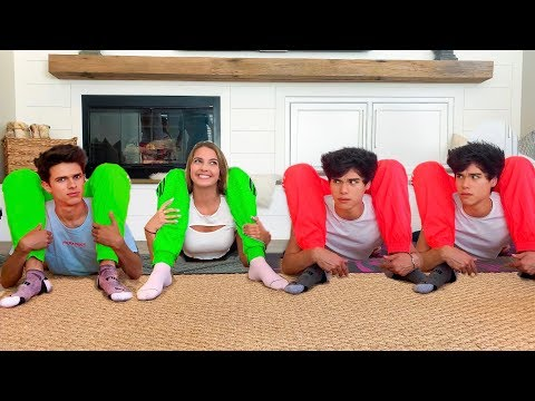 Twin vs Twin Extreme Yoga Challenge ft. Brent Rivera & Lexi Rivera
