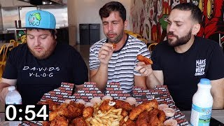 WHO CAN EAT THE MOST HOT CHICKEN?! 1,000,000 Scoville