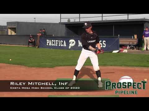 Riley Mitchell Prospect Video, Inf, Costa Mesa High School Class of 2020