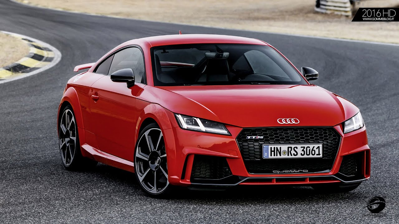 2017 Audi Tt Rs Exterior Interior Design