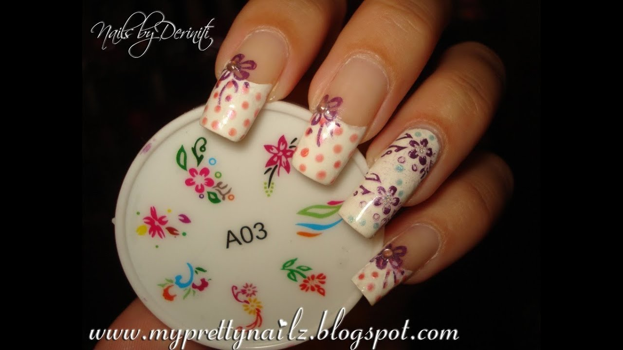 HOW TO USE BORN PRETTY STORE SILICONE NAIL STAMPING TEMPLATES - EASY ...