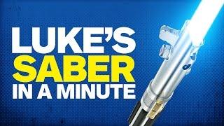 History of Luke Skywalker's Lightsaber