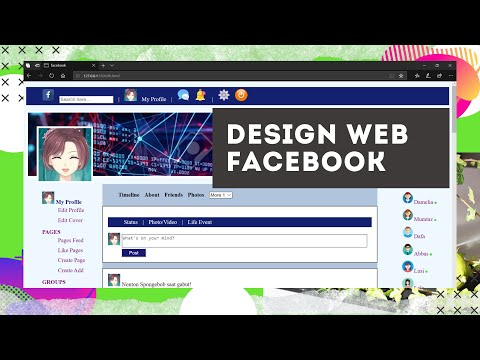 FINAL DESIGN FACEBOOK WITH HTML, CSS, AND JAVASCRIPT