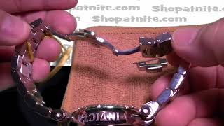 How To Resize aฑ Invicta Watch Band Adjustment.