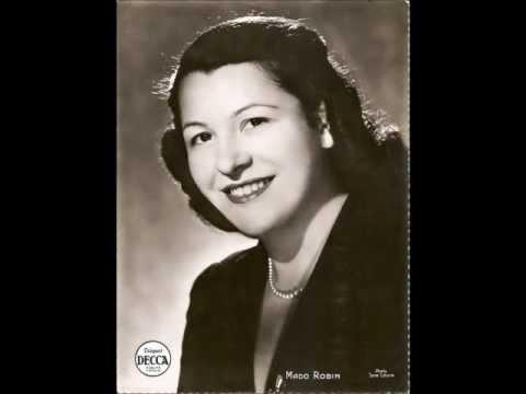 Mado Robin - La chanson d'Olympia - 1956
