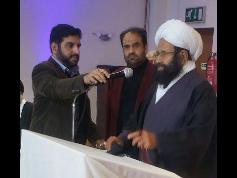 Grand Aayat Ullah Muhammad Hussain Najfi Address to World Peace Conference 04 March 2017