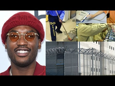 Meek Mill Working Many Jobs in Prison for 19 CENTS an Hour and Smiling about it, Reportedly