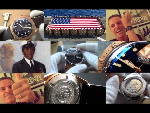 Watch Of Honor - Oris 65 Automatic Diver Carl Brashear LE Review & Tissot Visodate Watch Unboxing