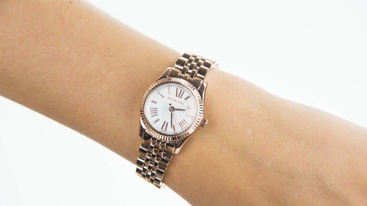 31d344902aaf Michael Kors Ladies Lexington Watch MK3230 - YouTube