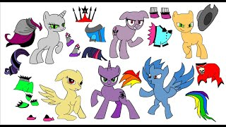 Mlp Craft book-  The Evil dimension of Ponyville ⚡