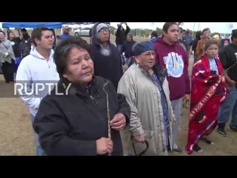 USA: Rock Sioux Tribe celebrate government intervention in Dakota Access Pipeline