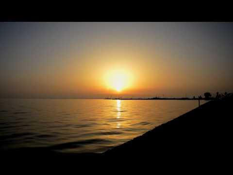 Sunset Moudania Greece timelapse nikon d3200