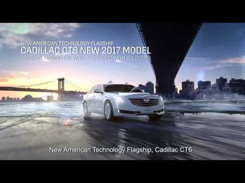 Cadillac CT6  2017 Branding in China
