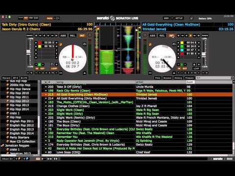 Mixing like a Radio DJ - Serato