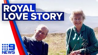 Prince Philip and Queen Elizabeth's romance sparked by gossip columns | 9 News Australia