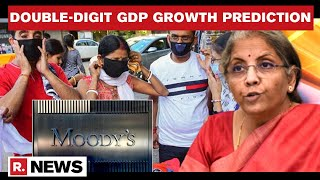 India To Record Double-Digit GDP Growth In 2021, Projects Moody's Amid 2nd COVID-19 Wave