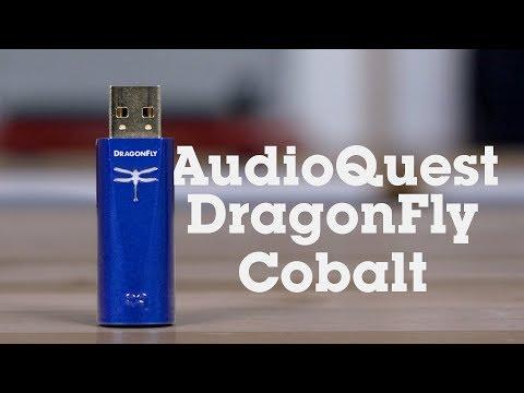 AudioQuest DragonFly Cobalt USB DAC & Headphone Amp | Crutchfield