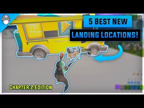 The 5 *BEST* Drop Locations In Chapter 2 Season 1 Fortnite! (Solo/Duo/Squads)