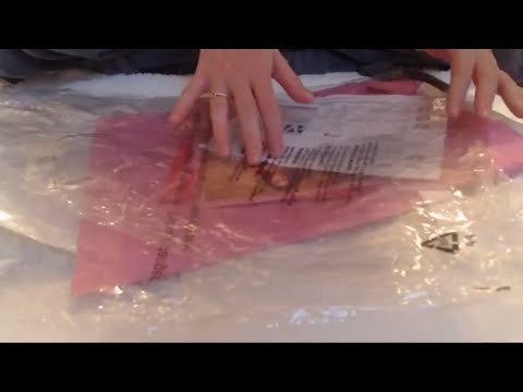 ASMR Crinkly Packaging And Paper Intoxicating Sounds Sleep Help Relaxation