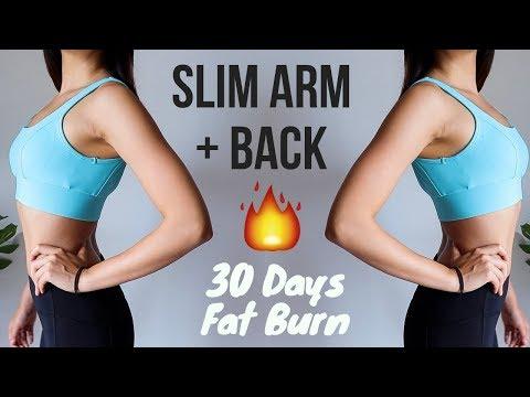 BURN ARMS + BACK FAT (UPPER BODY) IN 30 DAYS!! 10 min Home Workout   Week 3 Emi