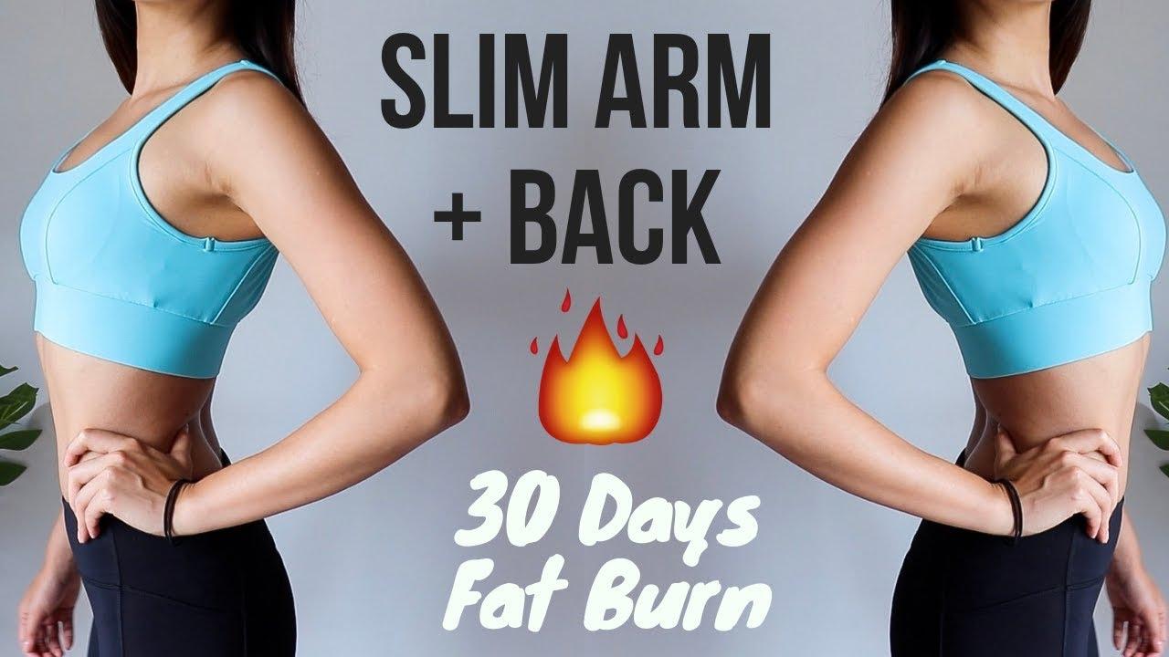 BURN ARMS + BACK FAT (UPPER BODY) IN 12 DAYS!! 12 min Home Workout  Week 12  ~ Emi