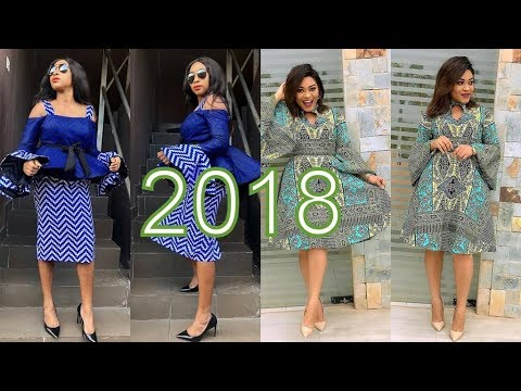 AFRICAN DRESSES 2018 DESIGNS : BEST COLLECTION FOR AFRICAN W
