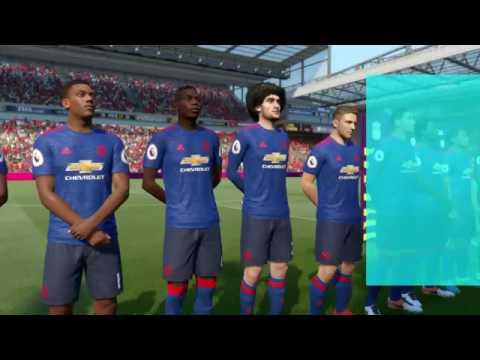 FIFA 17 Ливерпуль - Манчестер Юнайтед.  Прогноз матча.