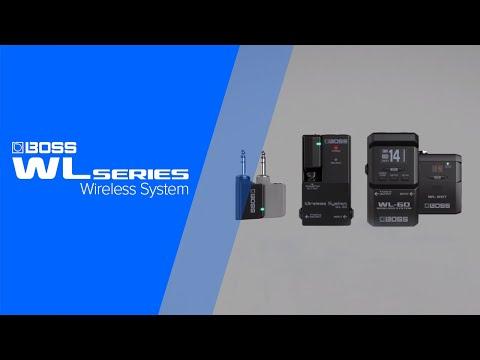 BOSS WL Series Guitar Wireless System Introduction (WL-20/WL-20L/WL-50/WL-60)