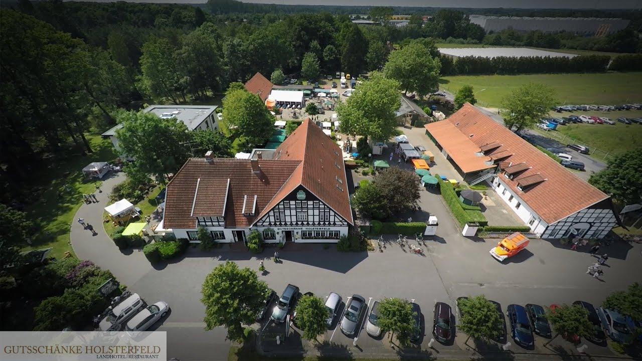 Hunderte Besucher beim Spargelhoffest an der Gutsschänke Holsterfeld ...