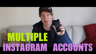 How To Add Multiple Instagram Accounts 2016