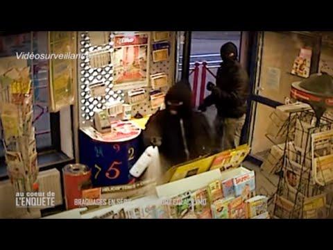Braquage en série, coffre fort et lacrymo - Reportage Police
