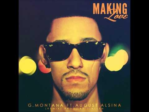 G Montana Feat August Alsina  Making Love Acapella  77 BPM