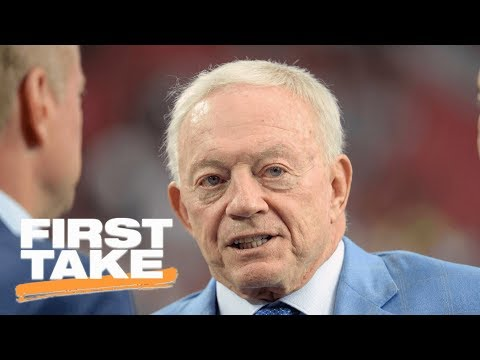 First Take reacts to Jerry Jones saying NFL is suffering from anthem protests   First Take   ESPN