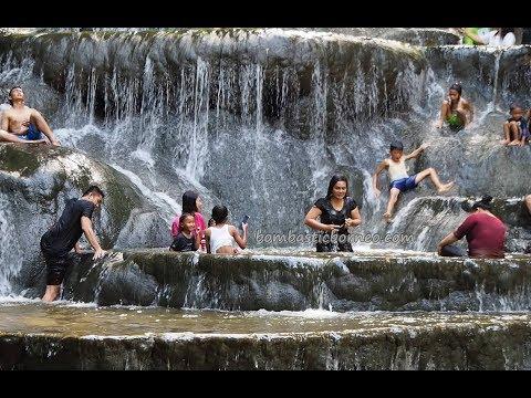 Air Terjun (Waterfall) Semolon, Malinau Kalimantan Utara Indonesia Borneo.Travel 奇行婆罗洲探险 印尼北加里曼丹瀑布旅游