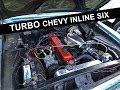 Turbo Inline Six Chevy Nova Walk-around and Drive