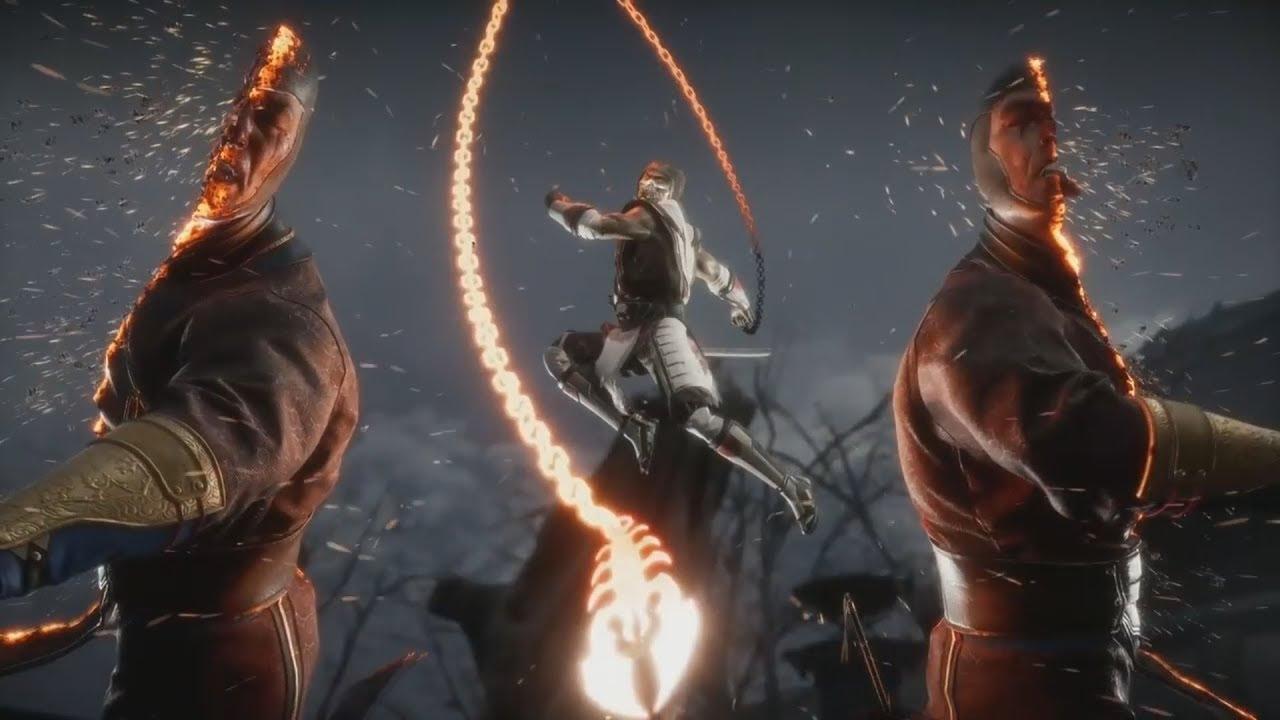 MK11: EPIC Scorpion Second Fatality