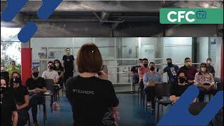 """CFC TV """"A palavra é..."""" - Episódio 7 - Treinamento com professores Ensino Fundamental 2 e Médio"""