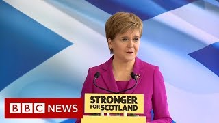 UK Election: SNP launch election campaign focusing on Brexit and Independence- BBC News