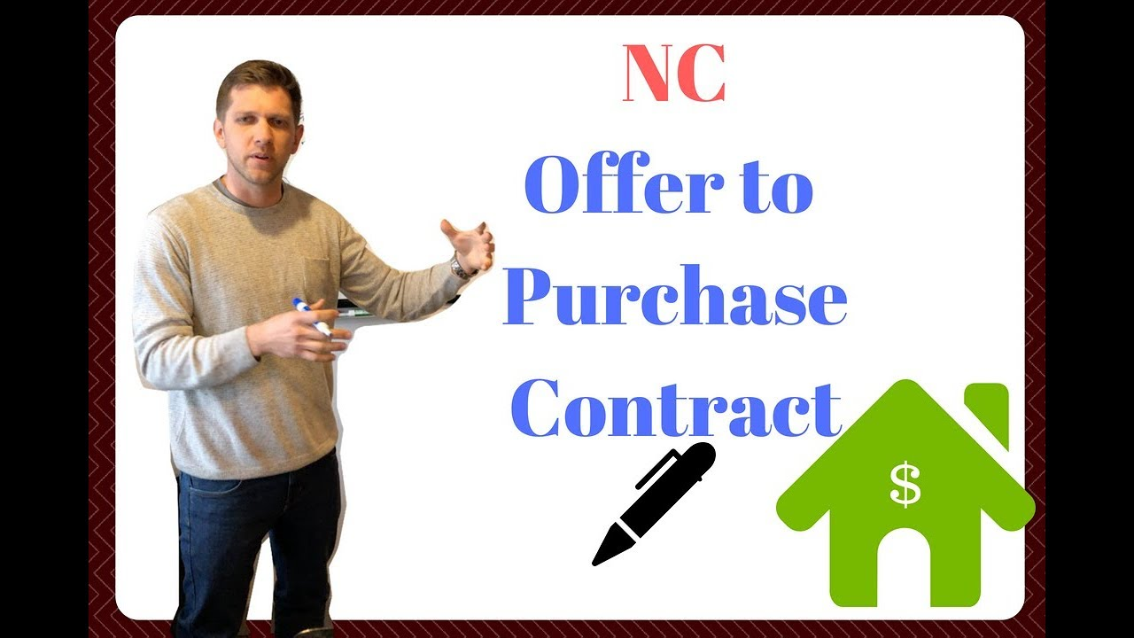 NC Offer To Purchase Contract Math   Whiteboard Wednesday #10