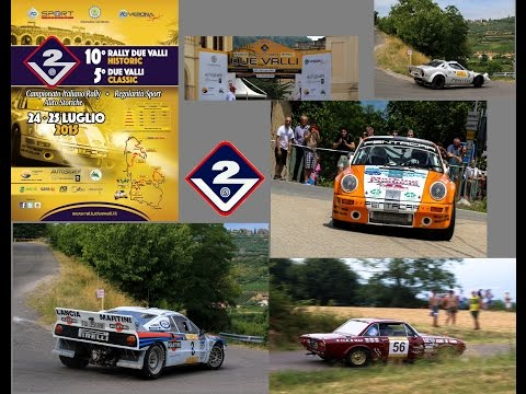 Rally Due Valli Historic 2015