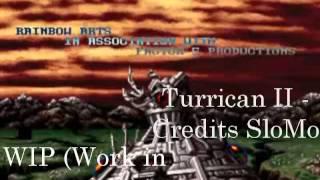 Turrican II - Credits [Amiga Remix- WIP- Sarah Kreuz]