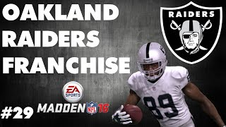 Madden 16 Raiders Franchise | S2 - Week 5 vs Chargers