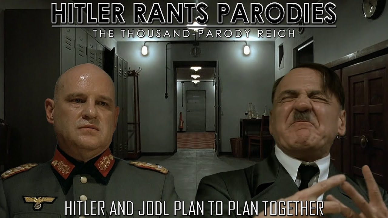 Hitler and Jodl plan to plan together