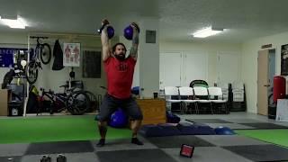 Using the Pause Jerk or Slow Jerk to increase Stabilization in Kettlebell Sport