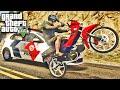GTA V - Assalto de Honda POP 100