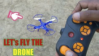 Unboxing and testing of a WiFi Drone