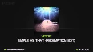 Verche Simple As That (Redemption Edit)